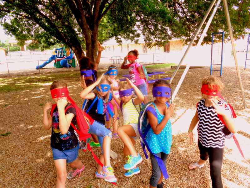 Summer Programs kids in masks