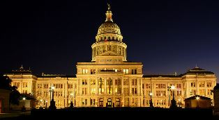 Texas State Capitol Night