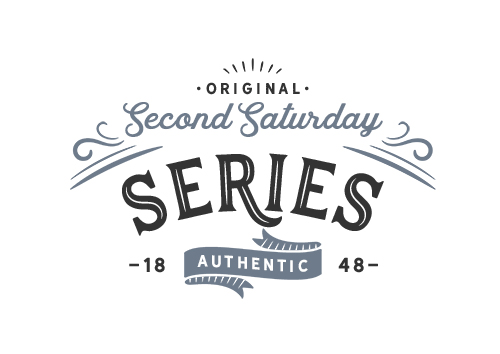 Original Second Saturday Series Authentic Logo