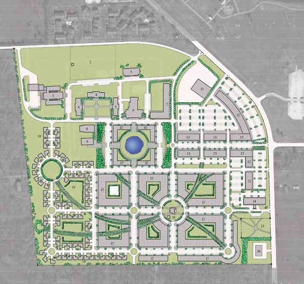 Illustration of Proposed TYC Master Plan