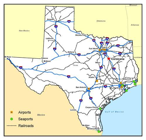 Texas Transportation Network