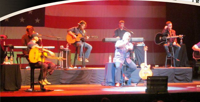 Joe Diffie, Sammy Kershaw, Aaron Tippin at the Palace Theater